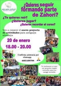 Zahorí - Antiguas alumnas